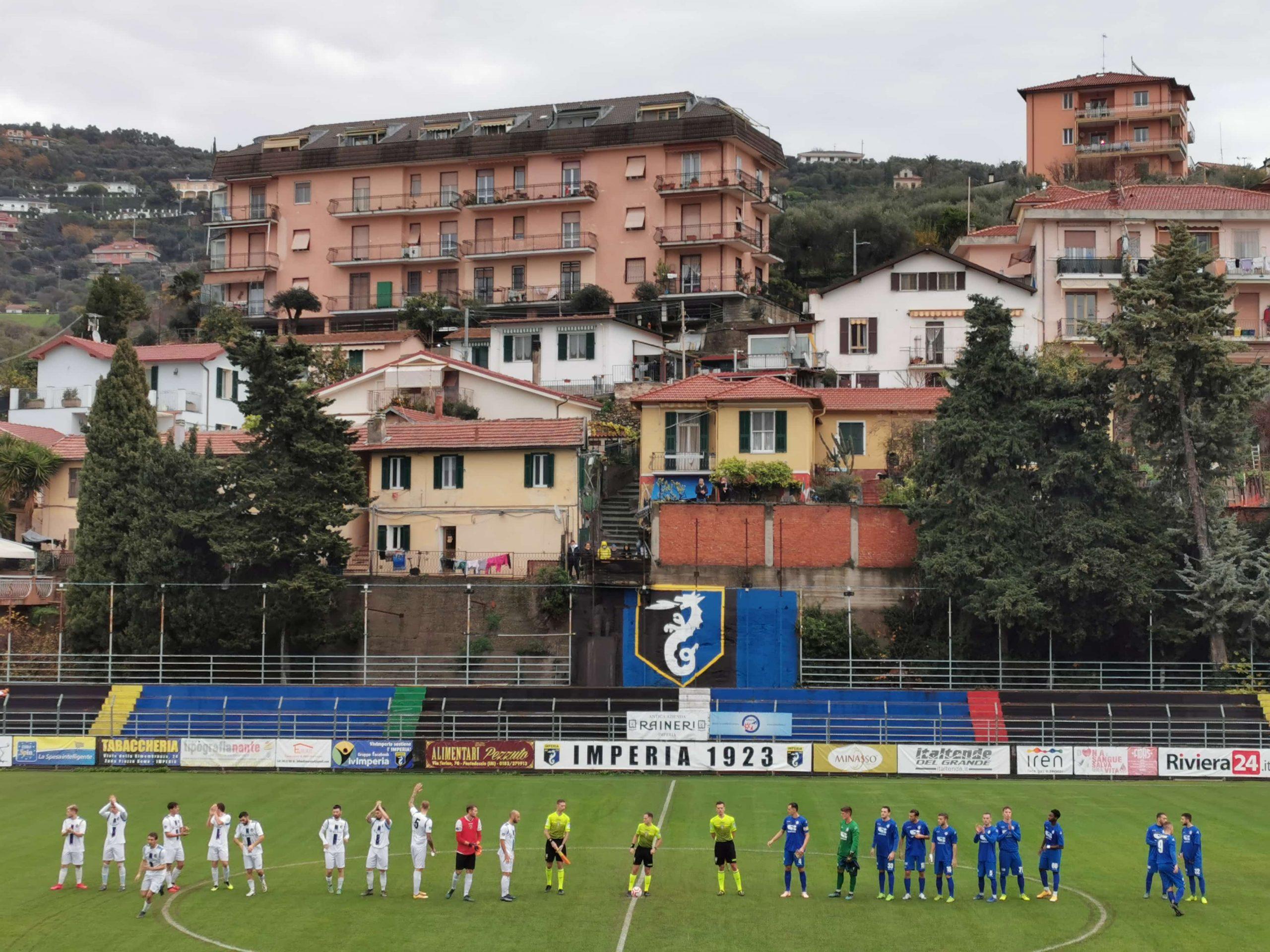 IMPERIA GAGLIARDA E CON LA FOLGORE CARATESE FINISCE 0-0