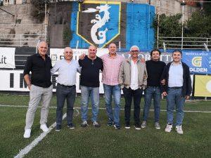 Ssd Imperia e gruppo Del Gratta insieme, entrano nel club Glauco Ferrara e Pino Fava